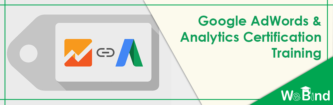 Book Online Tickets for Google AdWords and Analytics Certificati, Mumbai. Program Curriculum:    Module 1: Google Adwords Certification  Introduction to AdWords  Different types of campaigns  Certification and business usage  Google AdWords Account Structure  Basic Adve