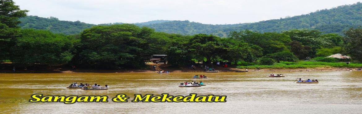 Book Online Tickets for Sangam and Mekedatu, Mekedatu. Hi,Wondering whats Mekedatu,, Its the route where only a goat can cross the river.... Lets explore whats it is... Join us coming Sunday for this trip.. Book your seats before it gets blocked.. Kids are also welcome @ your own risk...Mekedatu (K