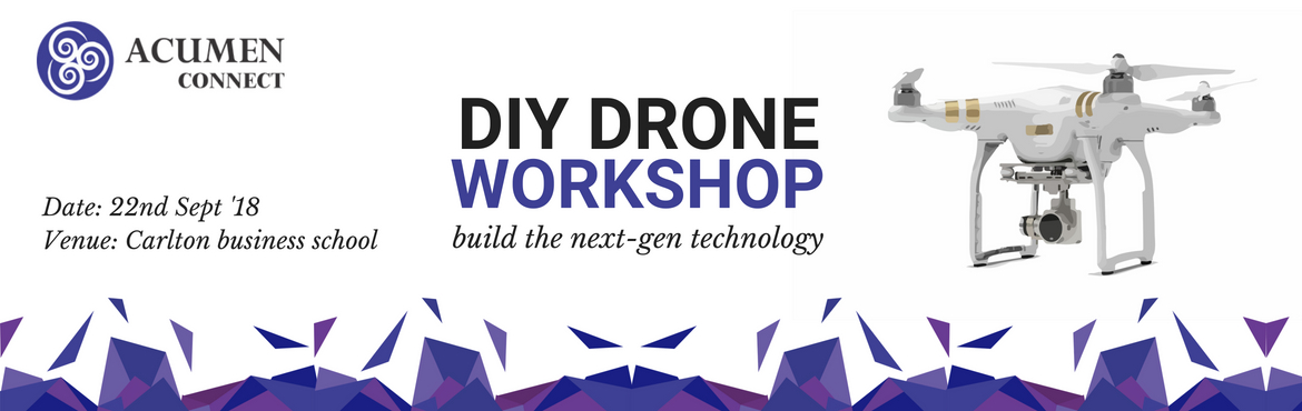 Book Online Tickets for DIY DRONE Workshop, Secunderab.  Do you find yourself wanting to be equipped with the skills to build a new-age technology device that is finding application across sectors ranging from military to entertainment?    Drone technology is constantly evolving as new innovation and big