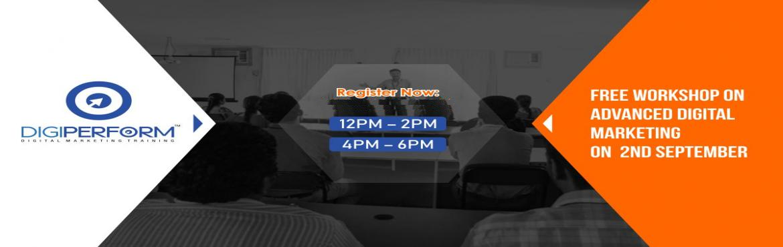 Book Online Tickets for Free Workshop on Advance Digital Marketi, Mumbai. Topics Covered : *Digital Marketing Platforms  *Identifying the ideal Digital marketing Platforms through Competitor analysis  *How to use Various Competitor analysis tools  *B2B vs B2C Strategy  *Stepwise Digital Marketing St