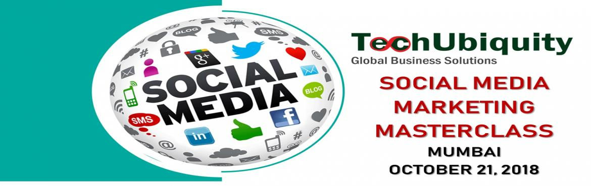 Book Online Tickets for Social Media Marketing MasterClass - Oct, Mumbai. Highly practical, hands-on training, skills, tools, and confidence, enabling to create & execute the very best social media strategy for your Business, Products, Services. How Will It Benefit the Attendants?  Learn the proven Social Media Marketi