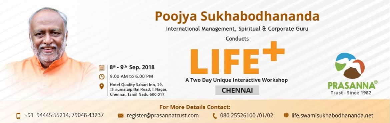 A Two Day Unique Interactive Workshop LIFE+ Chennai - Chennai |  MeraEvents com