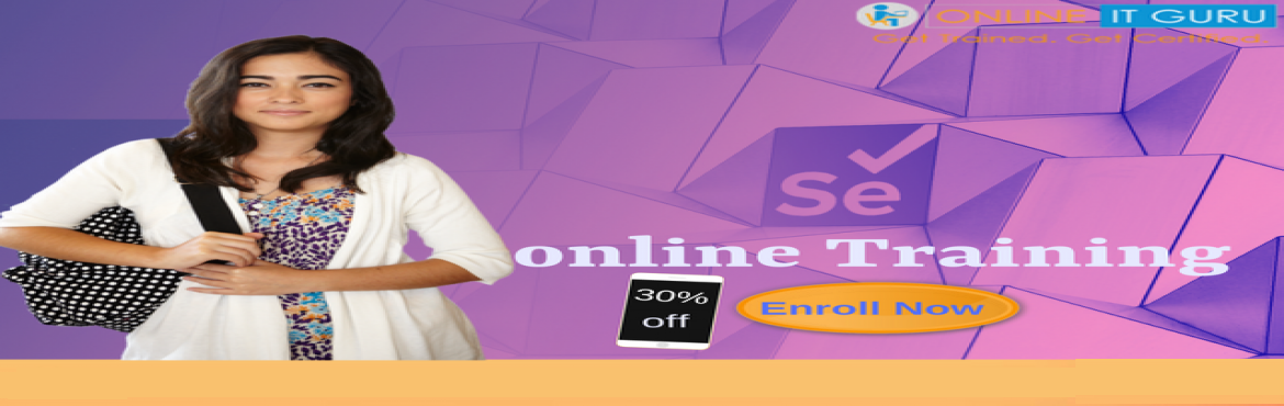 Book Online Tickets for Free Tutorial classes on selenium online, Bengaluru. Selenium online training it is an open-source automated testing tool for web-based applications across various browsers. Due to its flexibility, Selenium is used to test many projects developed using various programming languages. OnlineITGuru provid