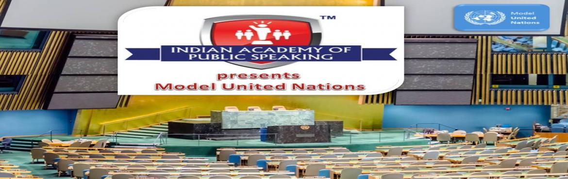 Book Online Tickets for IAPS Model United Nations (MUN) November, Kaikonadan. Date: 10th & 11th November 2018 Time: 2 full day program starting at 9am on 10th Nov Venue: Hotel Octave, Sarjapur Road, Bengaluru Age : 11 to 16 years only