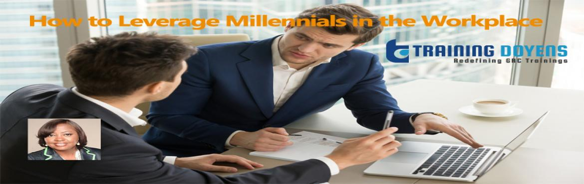Book Online Tickets for How to Leverage Millennials in the Workp, Aurora. OVERVIEW   Millennials are the largest generations in the workforce and many are challenged on how to work with them.  If you want answers on how to leverage millennials in your workplace, work expectations, millennial generation characteri