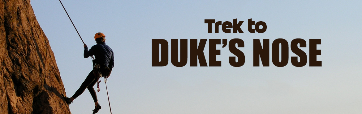 Book Online Tickets for Trek to Dukes nose by Kshitij World, Pune. Duke's Nose named after Duke Wellington, is a cliff at Khandala near Lonavala. The Cliff is pointed like a snakes pointed head portion (hood) and hence the name Nagphani (Nag means snake and phani means hood). The name Dukes'nose is deriv