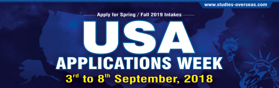 Book Online Tickets for USA Application Week - Krishna Consultan, Nagpur. Get Application Fee Waiver for Top USA Universities only this week from 3rd to 8th Sep 2018. Hurry Now !!! Dream to go USA for Higher Education? Attend USA Application Week at Krishna Consultants from 3rd to 8th September 2018  & Get Free Co