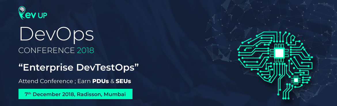 Book Online Tickets for Rev Up DevOps Mumbai, 2018, Mumbai.   DevOps in practice has created newer opportunities as well as posed several challenges in the recent years at enterprise level. One of manychallenges is sustaining quality while keeping up with the demand to deliver superior business value it
