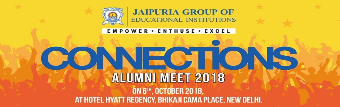 Book Online Tickets for Alumni Meet 2018, New Delhi. Dear Alumni, Get a chance to dance to the tune of famous Singer Abhijeet Bhattacharya. Jaipuria Group announces Alumni Meet 2018 on 6th Oct at Hotel Hyatt Regency, Bhikaji Cama Place, New Delhi.   Register at jaipuriaalumni.com or call 9599