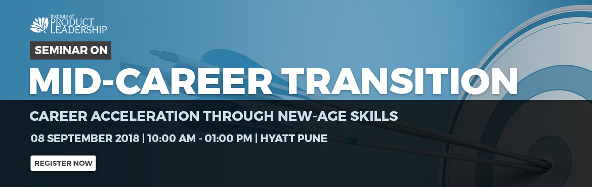 "Book Online Tickets for Seminar on Mid Career Transitions - Pune, Pune. Mid Career Transitions is like changing planes mid-air!A seminar is a great opportunity to understand how to move into new roles and get a personalized career assessment and how to put together a plan to go from the feeling of ""stuck"" to"