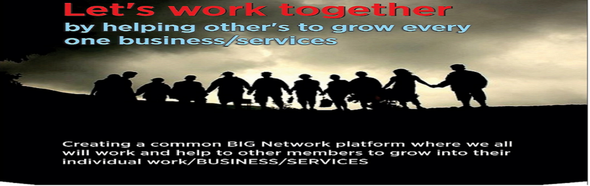 Book Online Tickets for Collaboration BIZ Network NOIDA CHAPTER , Noida.   Networking is not collecting contact, Networking is about planting relations.   Networking is marketing. Marketing yourself, marketing your uniqueness, marketing what you stand for. Instead of better glasses, your network gives you better
