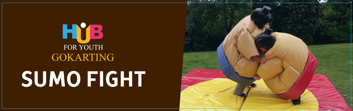 Book Online Tickets for Sumo Fight at Hub For Youth , Visakhapat. Sumo or sumo wrestling is a competitive full-contact wrestling sport where a rikishi attempts to force another wrestler out of a circular ring or into touching the ground with anything other than the soles of his feet.