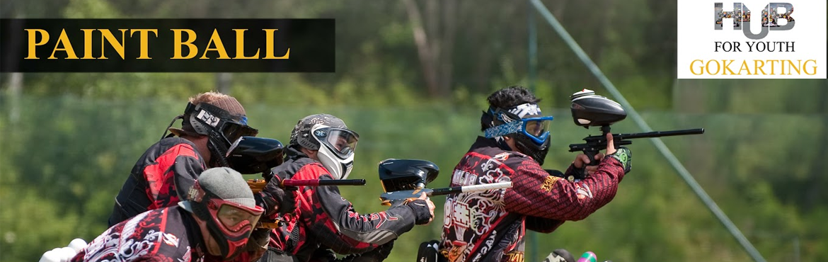 Book Online Tickets for PaintBall at Hub For Youth, Visakhapat.   Paintball is one of the most popular games in which people compete with each other, in teams or as individuals, to eliminate the opponents by tagging them with paintballs. Paintballs are like capsules filled with water-soluble dye with a gelatin sh