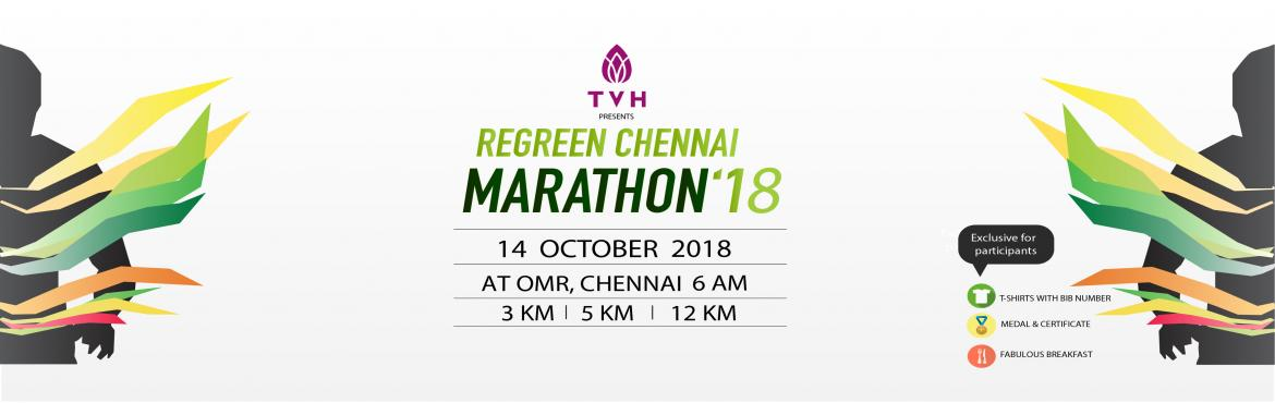 Book Online Tickets for ReGreen Chennai Marathon, Chennai.   It gives us great joy to introduce to you the 2018 ReGreen Marathon which is scheduled to take place on 14th October 2018 at OMR, Chennai. This year is the second edition of the marathon. The Marathon will be held in three categories (3 km, 5