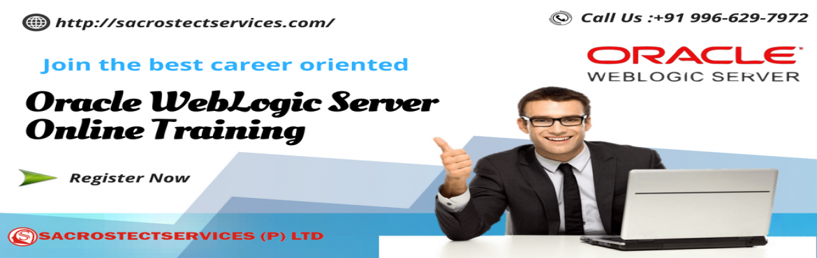 "Book Online Tickets for Must Attend Free WebLogic Online Demo Se, Hyderabad. S""acrostect services"" with the main intent of elevating the demand for the skilled WebLogic professionals it has come forward with a ""Free WebLogic Server Online Demo"" session. This demo session will be supervised by"
