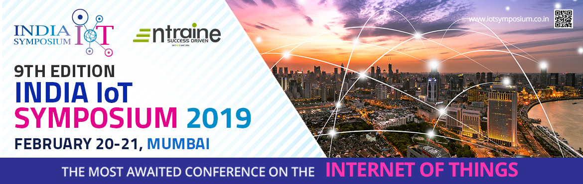 Book Online Tickets for India IoT Symposium (9th Edition), Mumbai. India\'s Largest IoT Symposium aims to create a lively environment of interaction among the international and national researchers and the Internet of things (IoT) solution seekers. It is a platform to discover the opportunities that the IoT ha