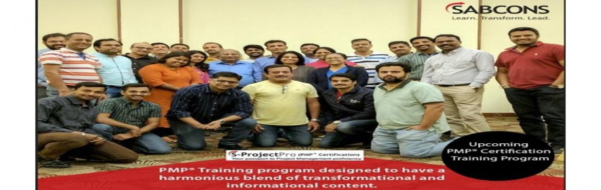 """Book Online Tickets for PMP Certification program October 6th to, Bengaluru.  Why """"Professional Project Management"""" program oriented towards PMP® Certification from SABCONS?  ü Pass the PMP® test with ease with less effort and time  ü Enhances your practical knowledg"""