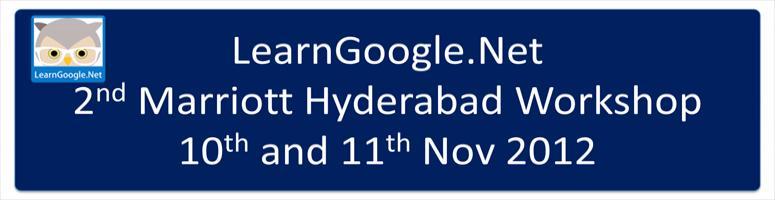 2nd Marriott Hyderabad Workshop