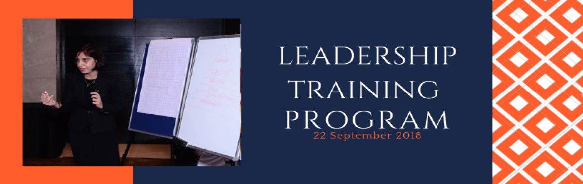 Book Online Tickets for Leadership Development Program, Delhi. Do you find that your emotions take a precedence over your behaviour and actions and you find it really hard to manage your emotions both at work and home? Do you like to build strong, healthy and lasting relations with people but still find hard to