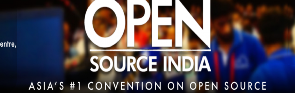 Book Online Tickets for Open Source India 2018, Bengaluru. OVERVIEW  Open Source India (OSI) is the premier Open Source conference in Asia targeted at nurturing and promoting the Open Source ecosystem in the subcontinent. Started as Linux Asia in 2004, OSI has been at the helm of bringing together the O