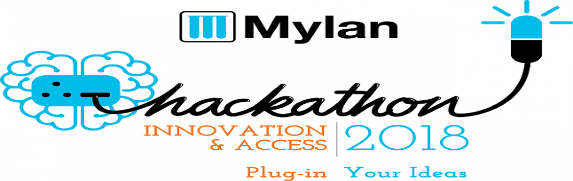 Book Online Tickets for Mylan Hackathon - Bangalore, Bengaluru. REGISTRATION LINK: https://www.mylanhackathon.com/en/registration/#regsection  COLLABRATE - CREATE - INNOVATE  Mylan is a global pharmaceutical company with an ambitious mission:To provide the world's 7 billion people ac