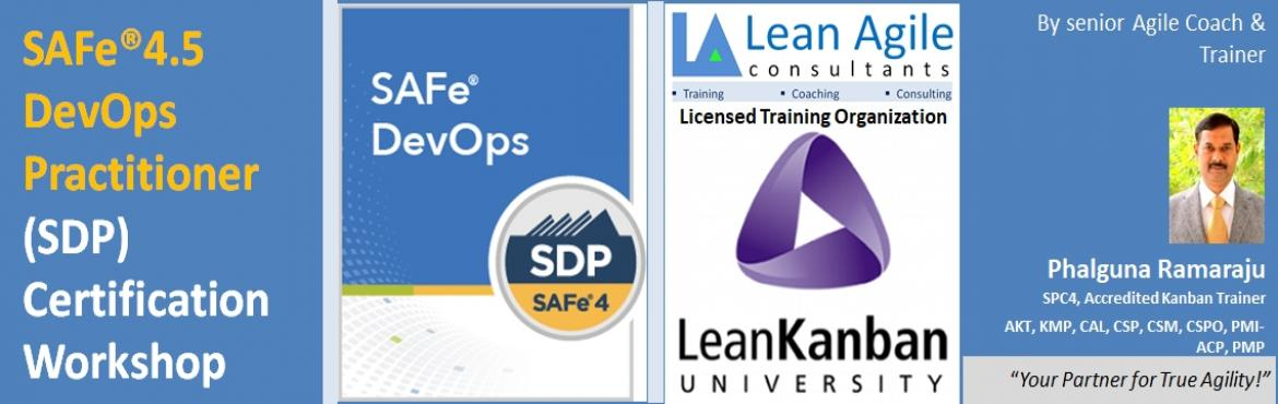 Book Online Tickets for SAFe 4.5 DevOps Practitioner Certificati, Hyderabad.  SAFe® 4.5 DevOps Practitioner (SDP) certification workshop This two-day course provides a comprehensive overview for understanding the DevOps competencies needed to accelerate time-to-market by improving the flow of value through the Contin