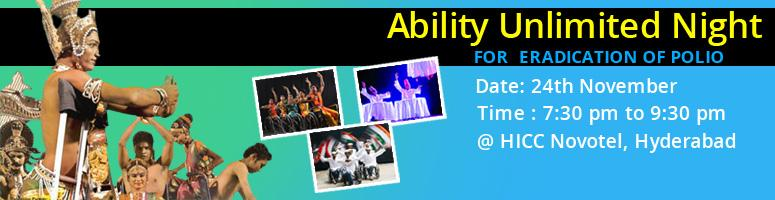 Ability Unlimited Night @ HICC Novotel