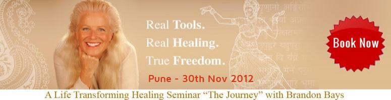 The Journey India with Brandon Bays - 3 day Intensive Seminars at PUNE