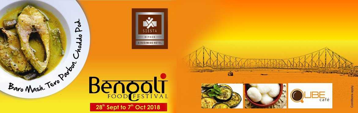 Book Online Tickets for Bengali Food Festival at Qube Cafe 2018, Hyderabad.   Concept:-   Baro Mash, Tero Parbon, Choddo Pod\