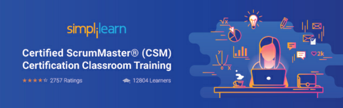 Book Online Tickets for Certified ScrumMaster (CSM) Training Cou, Hyderabad. Above ticket price is discounted. So you\'ve to pay more at the venue. About the Course:  The CSM Certification in Hyderabad provided by Simplilearn gives you a comprehensive overview of the Scrum framework for agile project management an