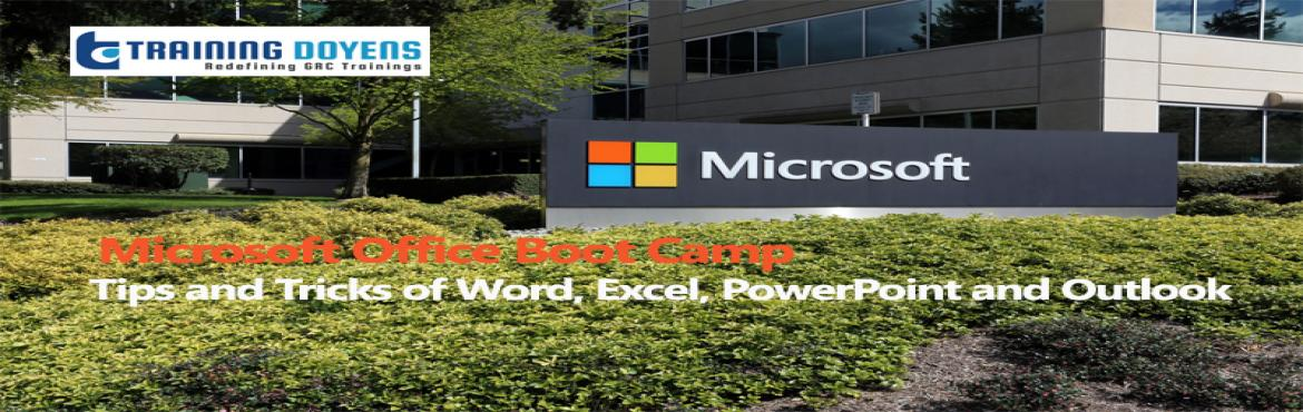 Book Online Tickets for Microsoft Office Boot Camp - Tips and Tr, Aurora.  OVERVIEW  In today's business world, just about every job requires some computer skills. Microsoft Office, also known as Office 365, is the software that most computers use. The Microsoft Office suite includes Word, Excel, PowerPoi