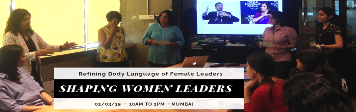 Book Online Tickets for Shaping Women Leaders, Mumbai. Who this is for  Females getting ready to take up senior leadership roles Females who want to learn strategies that increase their power in the corporate world Females rejoining the workforce at senior positions  Objective  To empower women become mo