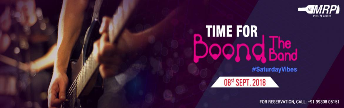 Book Online Tickets for Unplugged Music with Boond The Band, Mumbai. Boond the Band is back with its musical muses and alleviating strings, promising to take you on a soul driving ride. While all this happens you get solid high with our Booze at MRP and we make sure it's going to be a night t