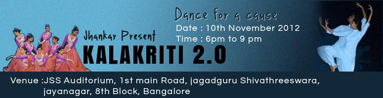 Book Online Tickets for Jhankar Presents KALAKRITI 2.0, Bengaluru. In aid for HABITAT FOR HUMANITY 