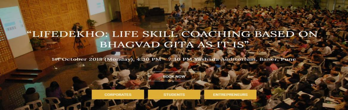 Book Online Tickets for Life Skill Coaching Workshop based on Bh, Pune.   This introductory workshop will help you see the possibility of transformation in each and every area of your life. Also, it provides the framework for a powerful way of living the life which helps you achieve anything and everything in life.