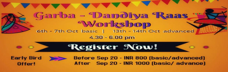 Book Online Tickets for Dhandiya-Gharba Raas Workshop, Hyderabad. Hyderabad, Get ready to rock this Navaratri with Garba and Dandiya Rass workshop by Neeharika Jaiswal at SIMSUM ARTS Studios, Hitex - Kondapur ! Neeharika Jaiswal is a trained classical dancer and has completed her arangetram in Bharatnatyam. She has