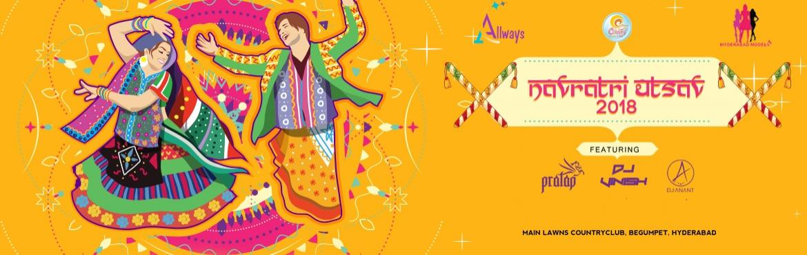 Book Online Tickets for Navratri Utsav 2018 at Country Club, Hyderabad. Dandiyais a biggest dance event celebrating the Indian festival Event of Navratri. The beginning of winter is considered to be important junctions of climatic and solar influences in Indian culture.Dandiyaconsists of two dance style