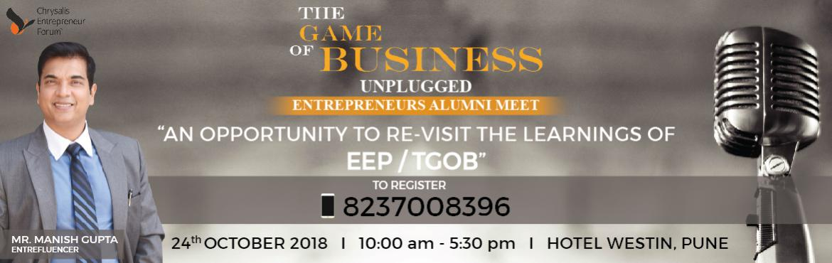 Book Online Tickets for The Game of Business - Unplugged, Pune.