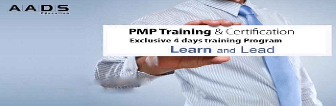 Book Online Tickets for PMP Training in Hyderabad at AADS Educat, Hyderabad. Project Management Professionals (PMPs) are globally recognized and demanded in the industry. Enrolling in PMP Training will help you enhance your project management and leadership skills, become a successful project manager to grow your skills, care