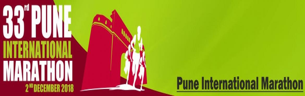 Book Online Tickets for 33rd Pune International Marathon 2018, Pune. Registrations for Pune International Marathon 2018 have started. Pune International Marathon is back. India\'s first marathon is scheduled to happen on 2nd December 2018. Pune International Marathon Trust has announced opening of registrati