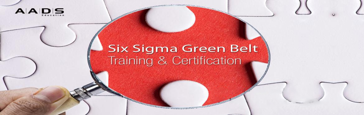 Book Online Tickets for Six Sigma Green Belt Training in Pune | , Pune. Enroll now for Six Sigma Green Belt Training at AADS Education to become a quality and process expert. Trained by Certified Master Black Belts, you will learn DMAIC, DFSS methodologies, best practices, and QC tools that help you manage six sigma proj