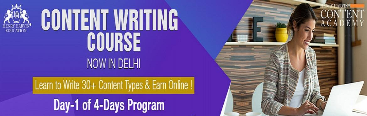 Book Online Tickets for Content Writing Course by Henry Harvin E, New Delhi.   Henry Harvin Education introduces 32 hours Classroom Based Training and Certification course on content writing creating professional content writer, marketers, strategists. Gain Proficiency in creating 30+ content types and become a