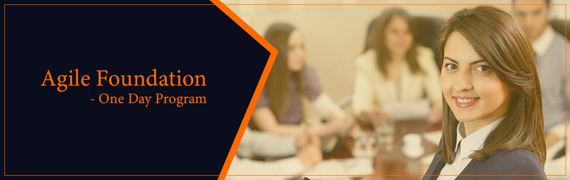 Book Online Tickets for Agile Foundation Program - October 2018, Bengaluru. This program has been conceptualized as a short program to get into foundations of Agile Methodologies and apply them on small and medium projects. Participants and PMI-ACP certification exam aspirants will also get 7 PDUs.