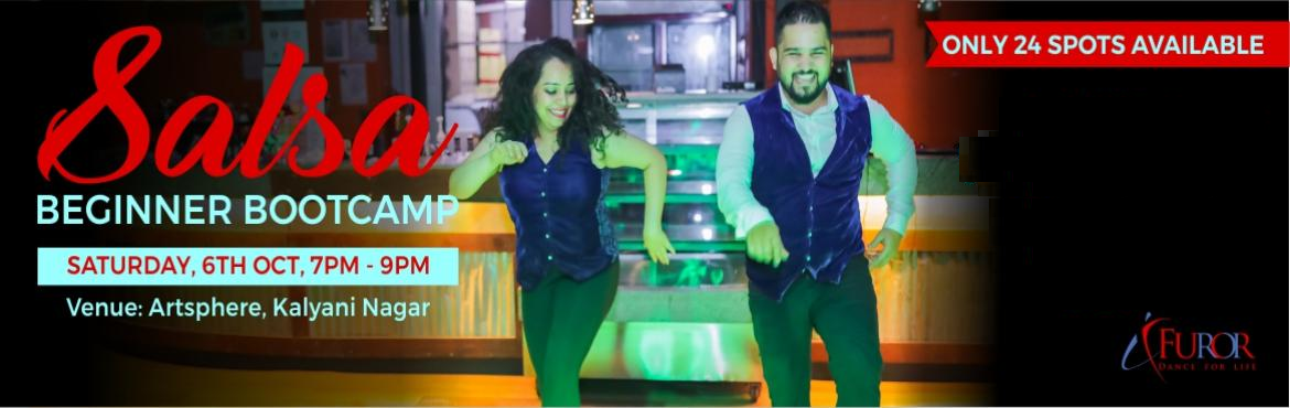 Book Online Tickets for SALSA BEGINNER BOOTCAMP | 6th Oct | Kaly, Pune. Salsa Beginner Bootcamp for the the month of October is here!!! We bring back this super fun and popular way to start your journey as a Salsa dancer. Learn the basic steps (footwork & partnerwork) of this extremely groovy dance form in our 2 hour