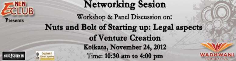 Nuts and Bolt of Starting up: Legal aspects of Venture Creation