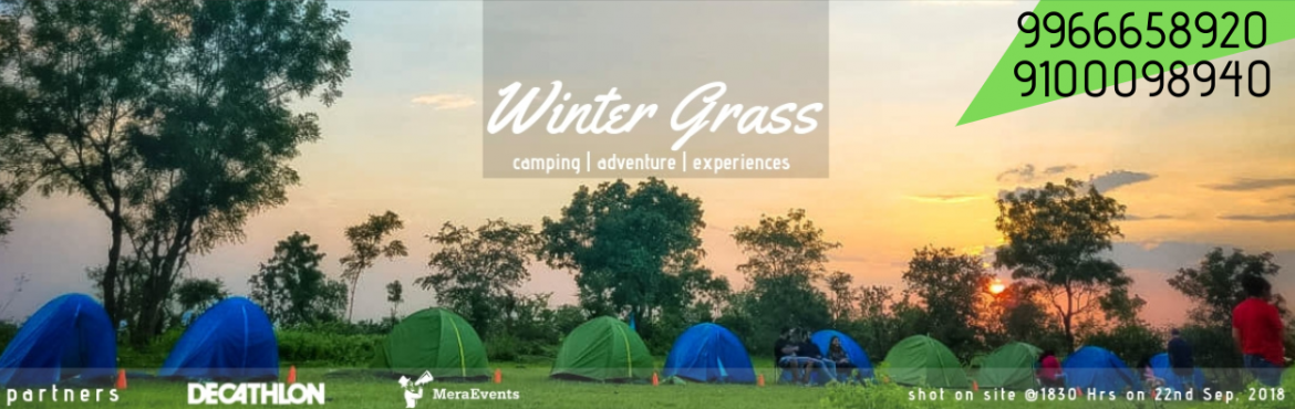 Book Online Tickets for Camp Winter Grass,  Adventure Experience, Hyderabad. Magical Camping at Anantagiri Hills. Are you up for camping in the middle of a thick jungle? Looking to do something exciting this weekend? Wishing for a getaway into the wilderness, far from the hustle-bustle of the city? Immerse in 2 Days of Weeken