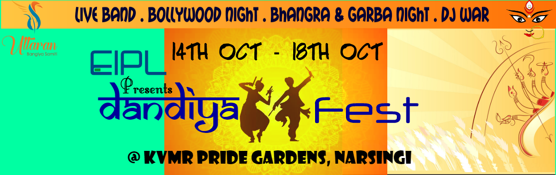 Book Online Tickets for EIPL Presents Dandiya Raas 2018 by Uttar, Hyderabad. Let the Dandiya Fever Begin!!!!!Let the Dandiya Fever Begin!!!!! This year, Uttaran Bangiya Samiti is Organizing a Grand Dandiya Festat your close proximity. Yes, you have read it right. Location: KVMR Pride Gardens, Narsingi&