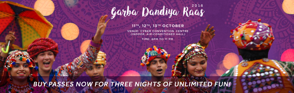 Book Online Tickets for Garba and Dandiya Rass 2018, Hyderabad. Dance???????? and swing with us in Garba Daandiya Raas???? which is a blend of Bollywood music????and Live dance for all the fanatics????????‍♀ and frenzied out there. The festival of Navratri comes with a promise of nine days filled