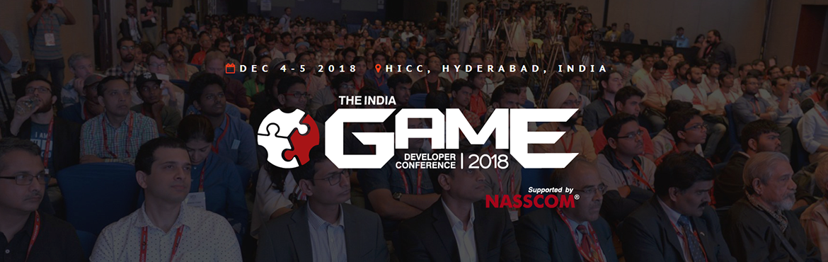 Book Online Tickets for India Game Developer Conference 2018, Hyderabad. The India Game Developers Conference (IGDC), formerly known as the NASSCOM Game Developers Conference (NGDC), is India\'s premier game developers conference. Now in its 10th year, the conference is considered to be the most significant of such events