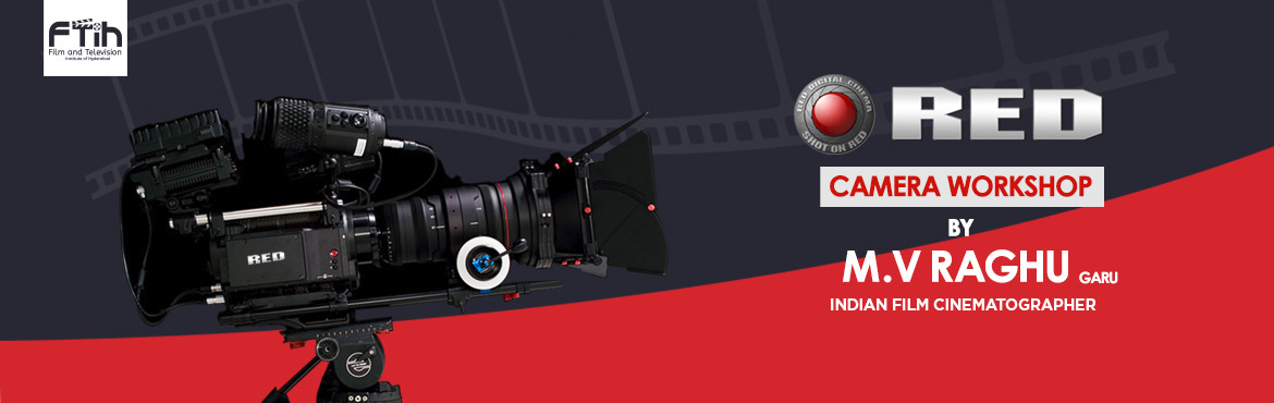 Book Online Tickets for Red Camera Workshop by M. V. Raghu, Hyderabad. This two days workshop by, renowned Filmmaker and Cinematographer M.V.Raghu will provide you with detailed knowledge about the process of capturing visually stunning images. The workshop gives you a understanding on the following topics. Conten